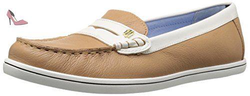 6a4fc6a65ebea9 Tommy Hilfiger Butter 4 Femmes US 8.5 Beige Mocassin - Chaussures tommy  hilfiger ( Partner-Link)