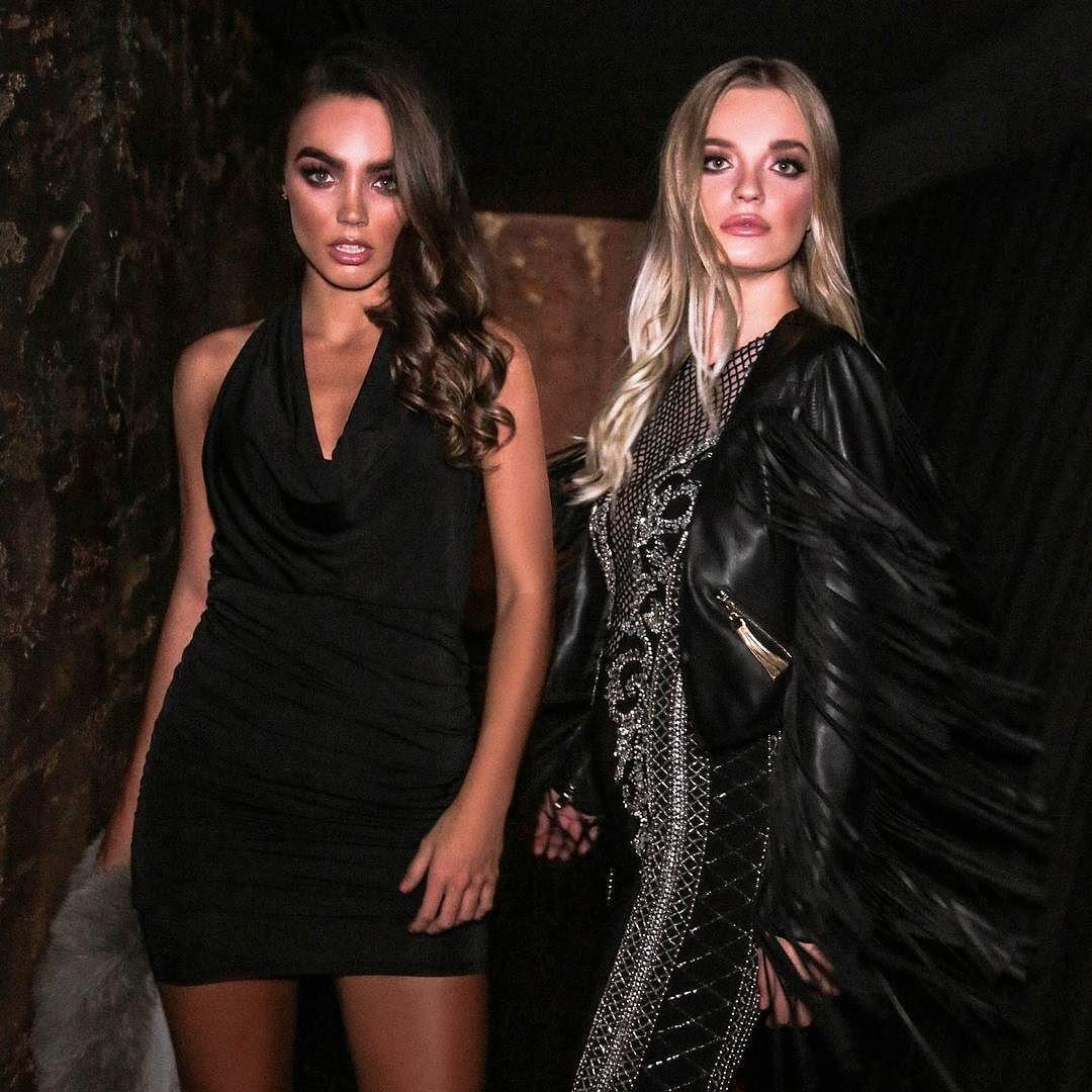 LBDs on point  Black dress - MOLLY Embellished dress - CHRISSY Faux leather jacket - PRIYA
