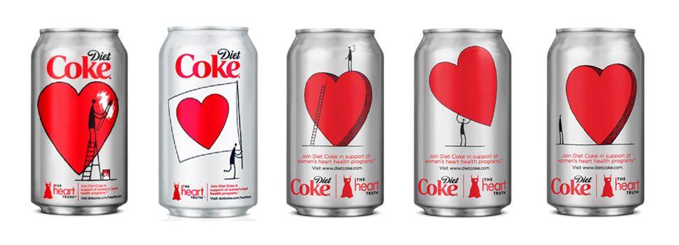 Diane von Furstenberg Diet Coke PD