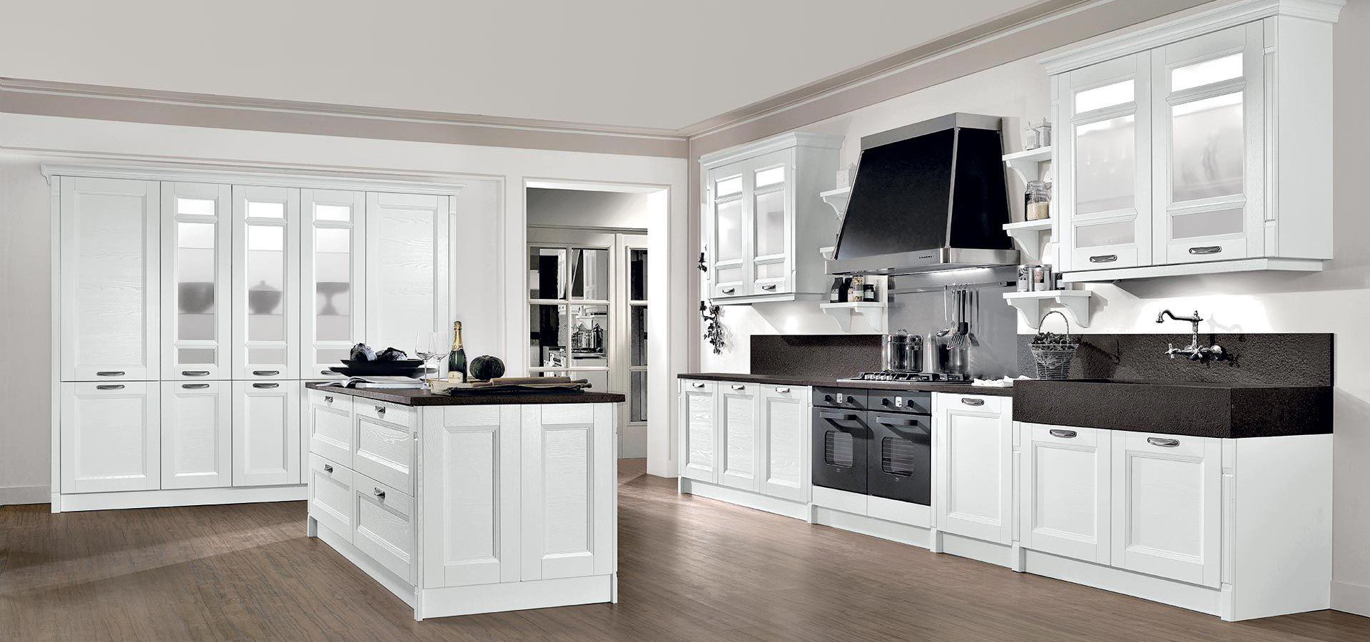 Scopri Gioiosa, la nostra cucina classica componibile che mette d ...