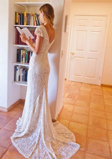 Adelaide Lace Dress   White bohemian