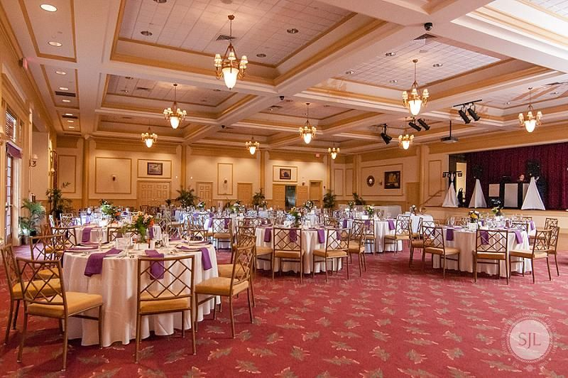 Colonial Heritage Golf Club Ballroom Wedding Reception Venue In
