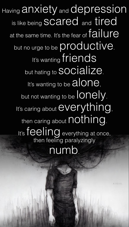 Life Depression Quotes Pain Heartbroken Loneliness Sad ...