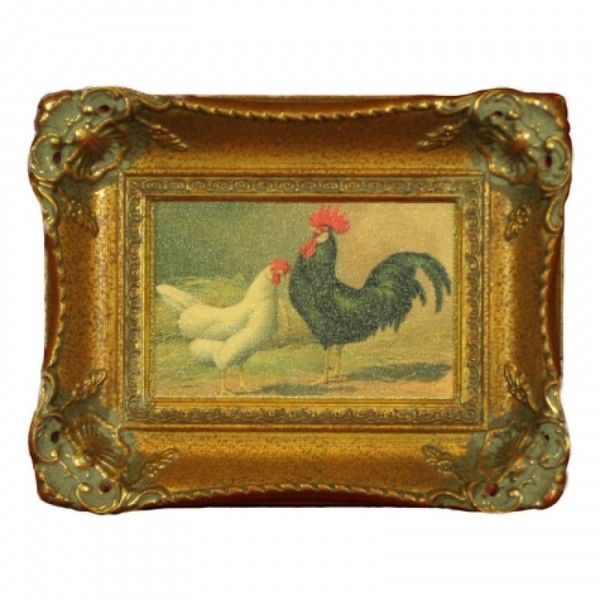 H. Hal Kramer Co. Vintage Country Rooster Wall Decor II ($75 ...