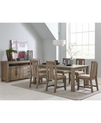Furniture Canyon Dining Furniture Collection Created For Macy S Reviews Furniture Macy S Furniture Dining Furniture Dining Room Furniture