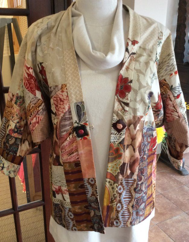 Kandu Coat Class Offered By Sew Inspired Quilt Shop Fashion