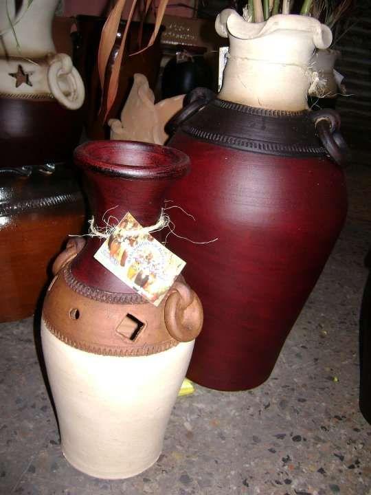 Resultado de imagen para pintura artesanal en cacharros de for Decoracion en ceramica artesanal