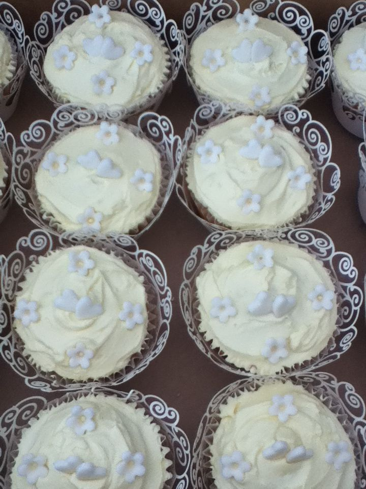 wedding cupcakes by homemade by june