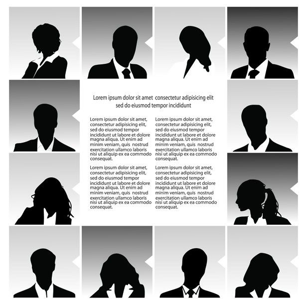 Download Free Vector Fashion Business People Silhouettes 03 under the free Vector Silhouettes category(ies) at TitanUI.CoM!