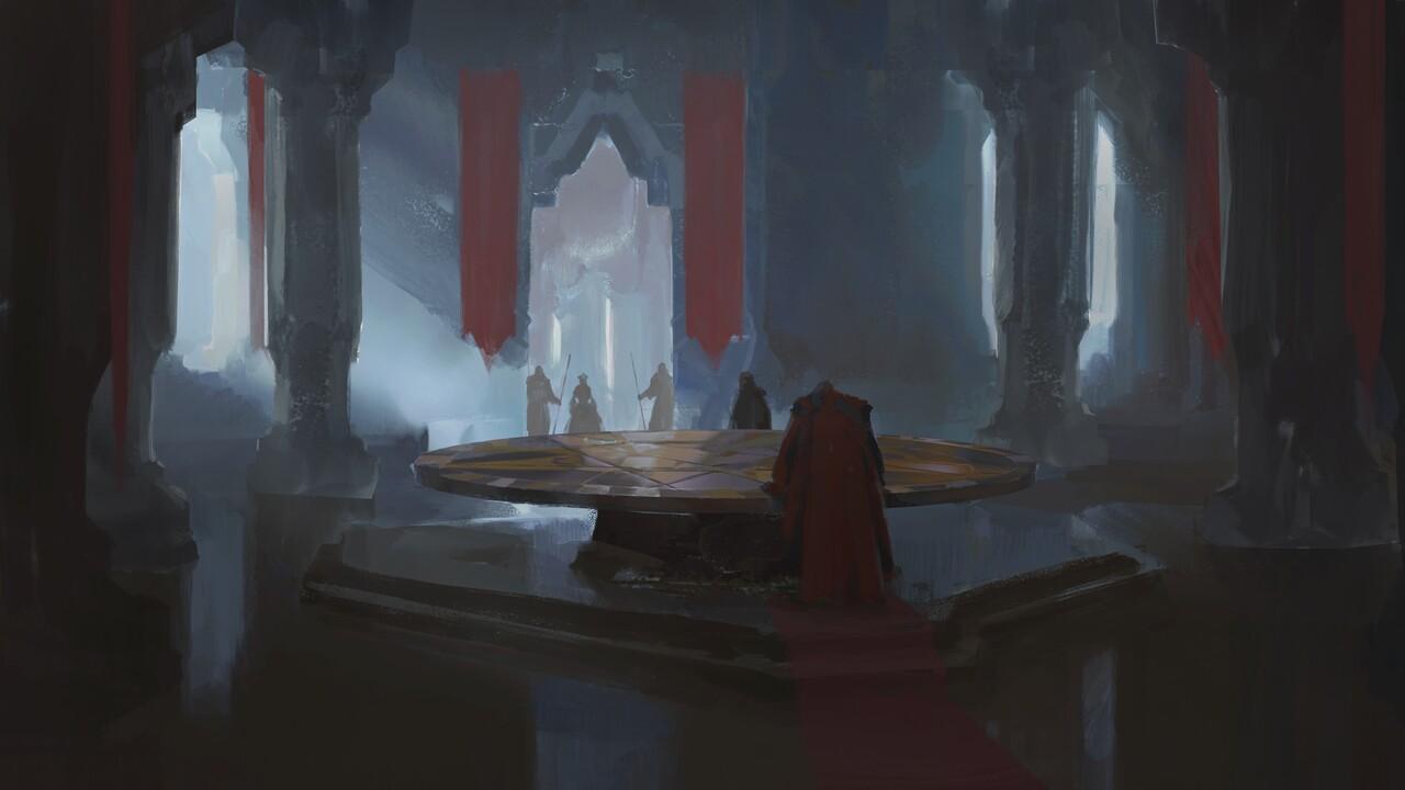 Artstation Florian Herold S Submission On The Legend Of King Arthur Keyframe Design Legend Of King King Arthur Legend