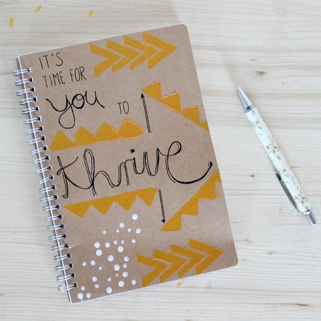 Journal Thrive! #purduereslife actually a really cute idea ...