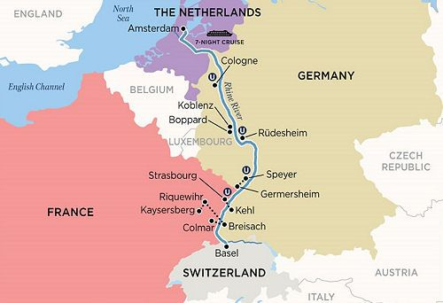 Castles Along The Rhine Basel To Amsterdam For Families Rhine
