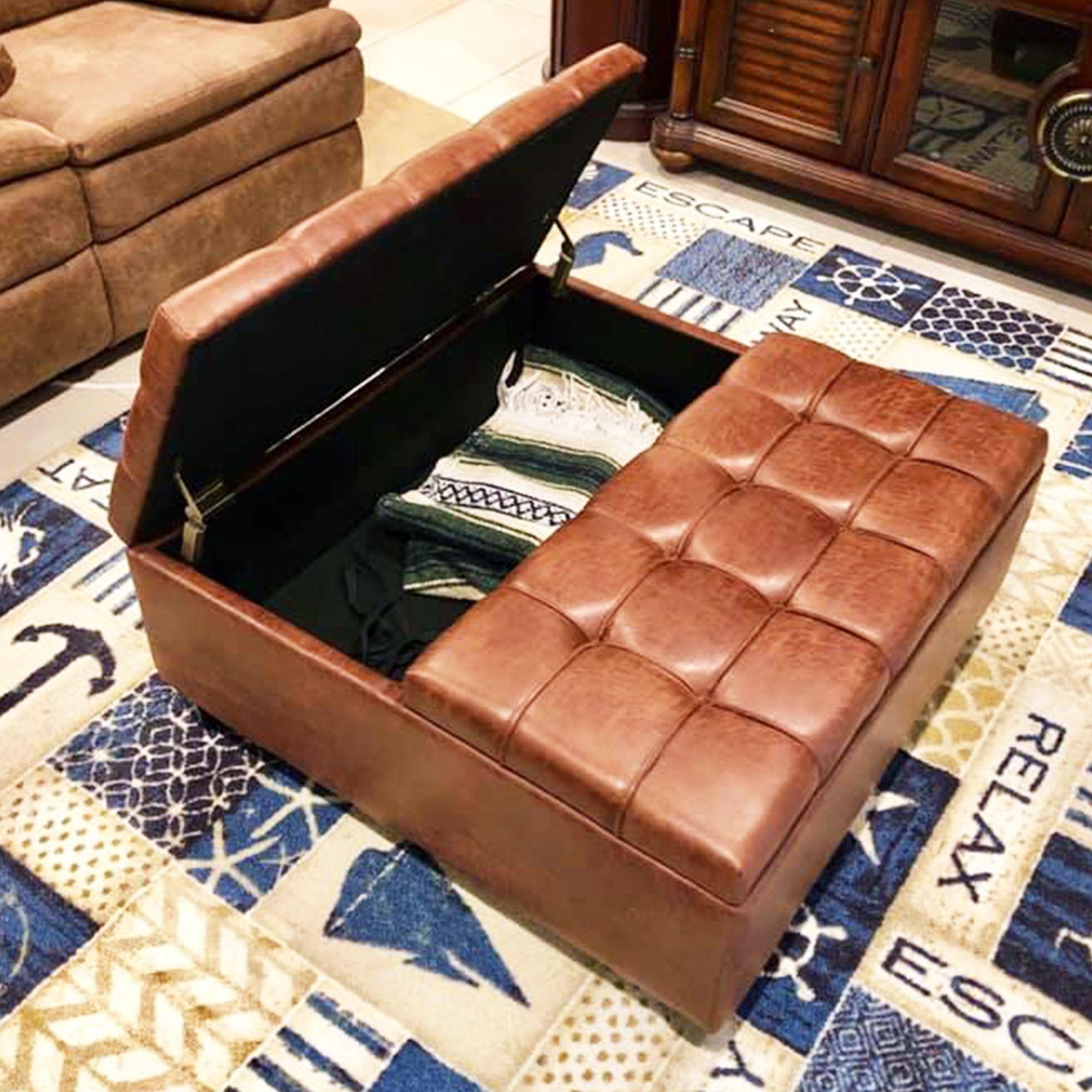 Harrison Coffee Table Storage Ottoman In 2020 Ottoman In Living Room Storage Ottoman Storage Ottoman Coffee Table