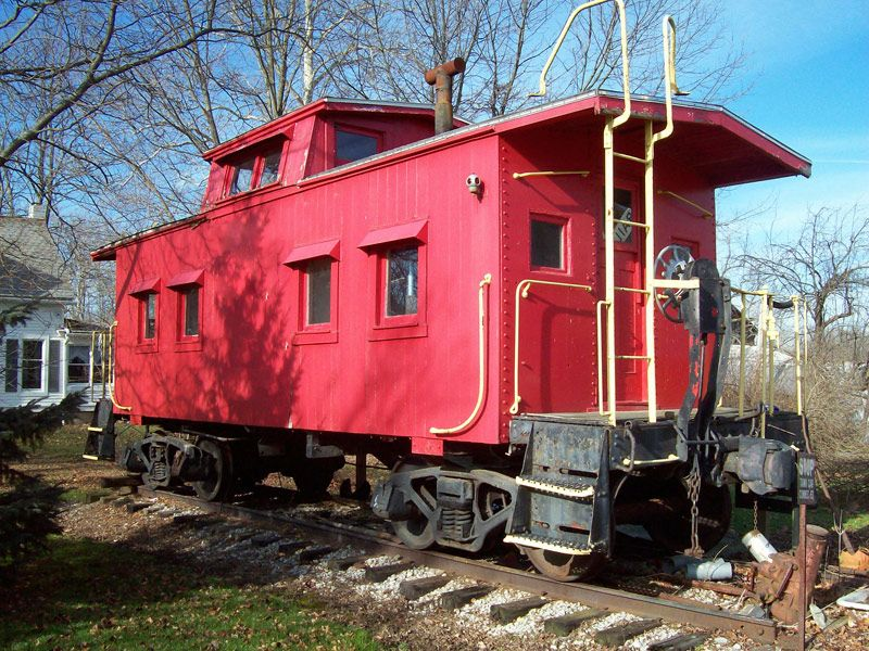 Sterling rail caboose for sale cabooses and passenger for Railroad motor cars for sale