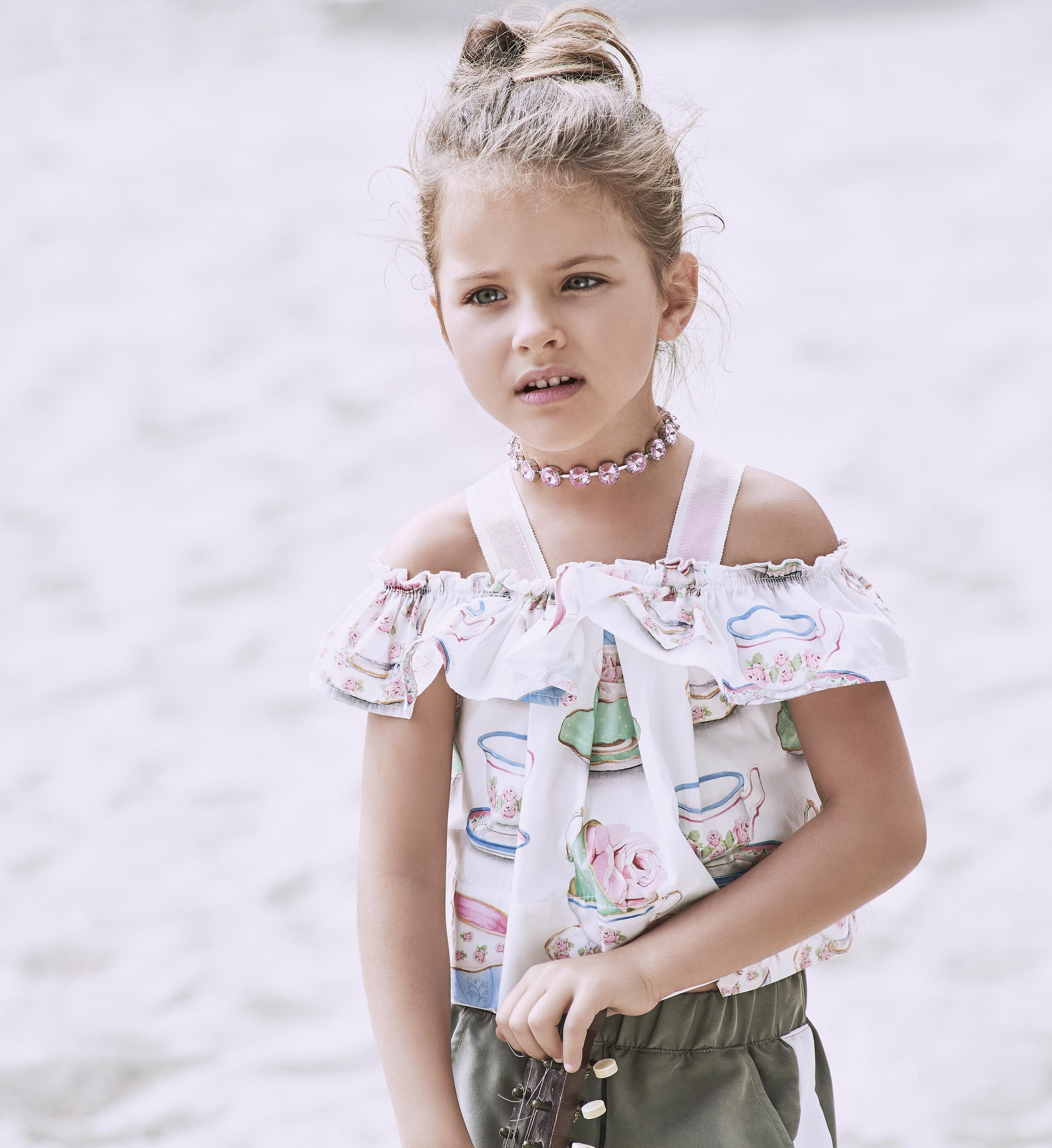 foto de MONNALISA Spring Summer 2017 #Monnalisa #fashion #kids #childrenswear #newcollection #girl #