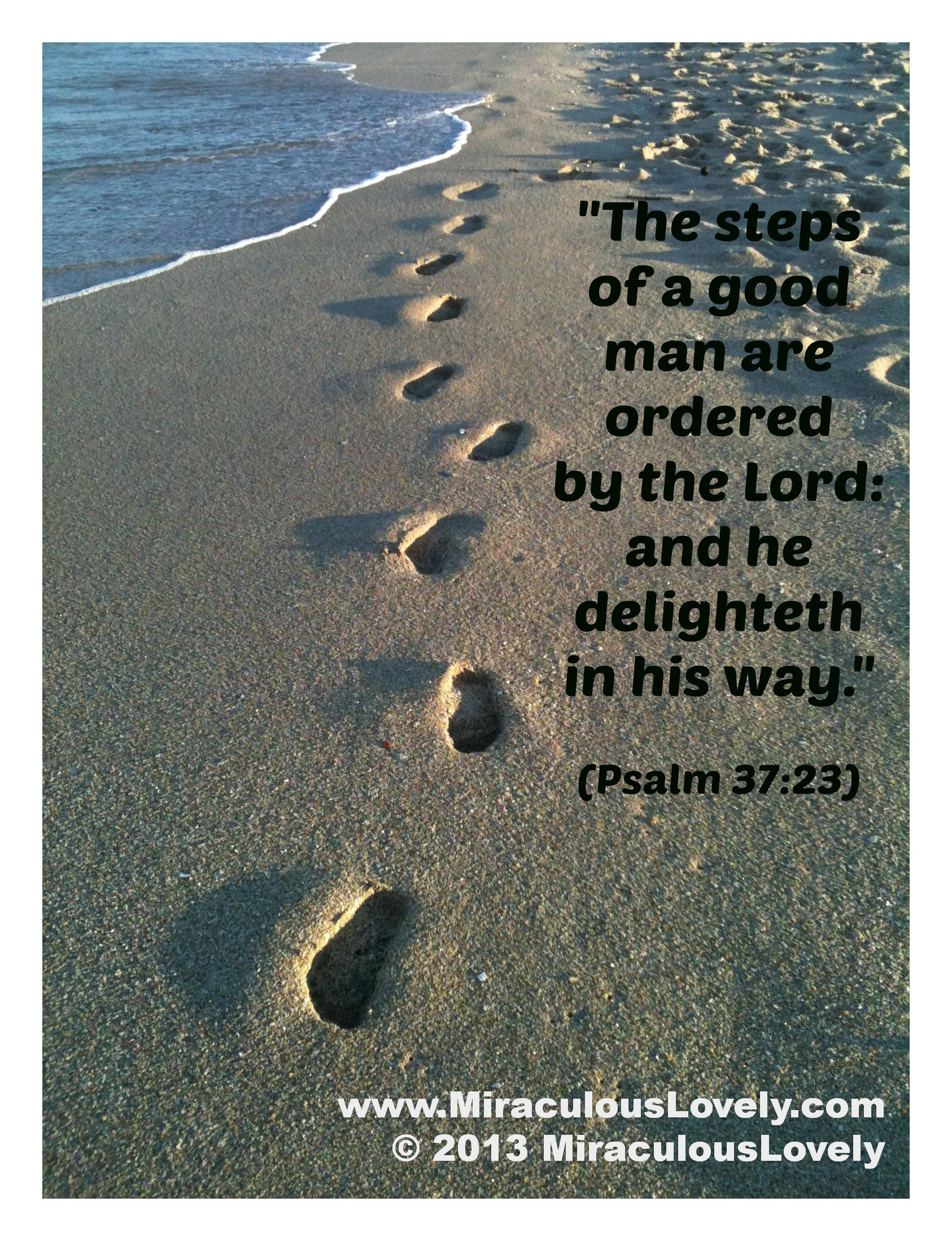 Footprints On The Sand And Great Bible Verse Inspirational