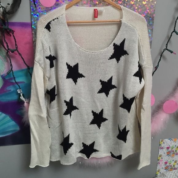 h&m knit star sweater super cute and comfy. long sleeves too H&M ...