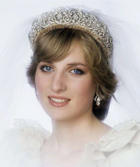 Diana wearing Spencer Family Tiara
