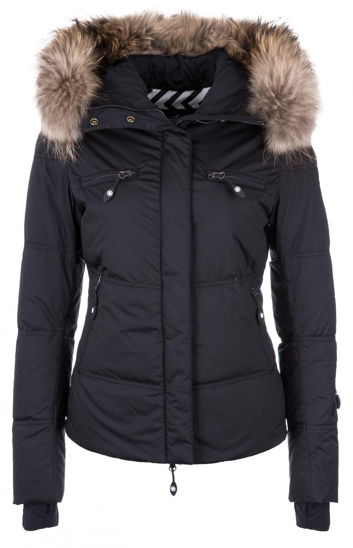 Damen Skijacke Liv Fur Schwarz | Mode, Modestil, Damen