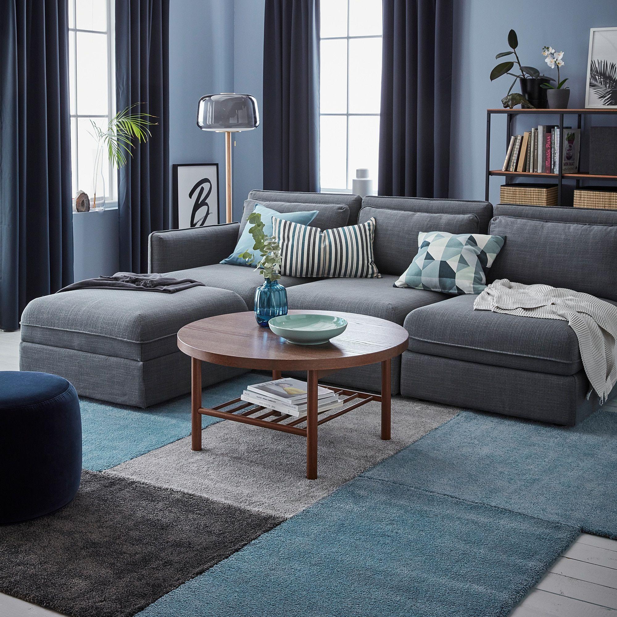 IKEA STOENSE Medium Gray Rug, low pile in 2019