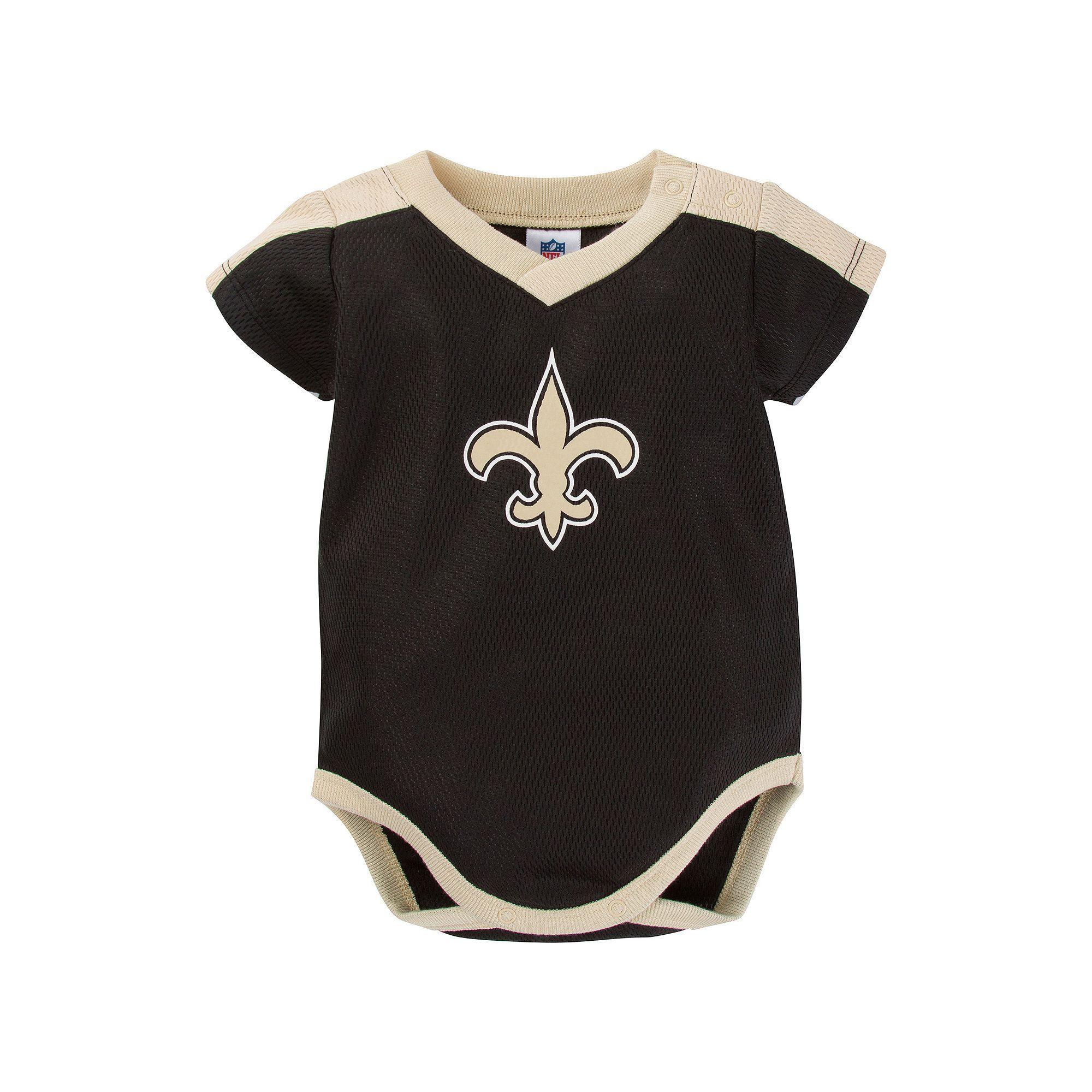 b64c9294efe ... Baby New Orleans Saints Jersey Bodysuit, Infant Boys, Size 18 Months,  ...
