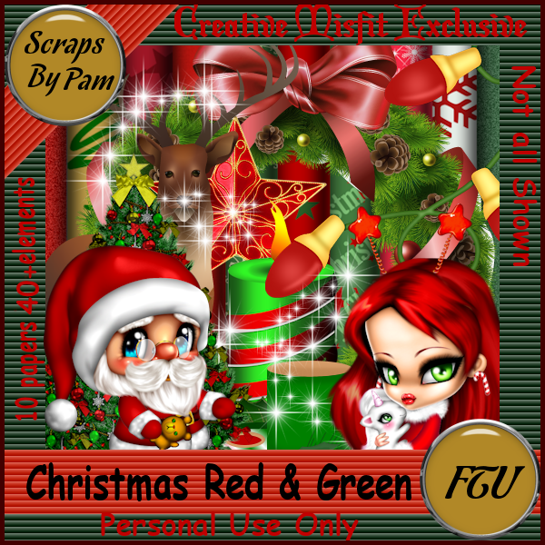 Creative Misfits Creations: New Christmas Scrap Kit