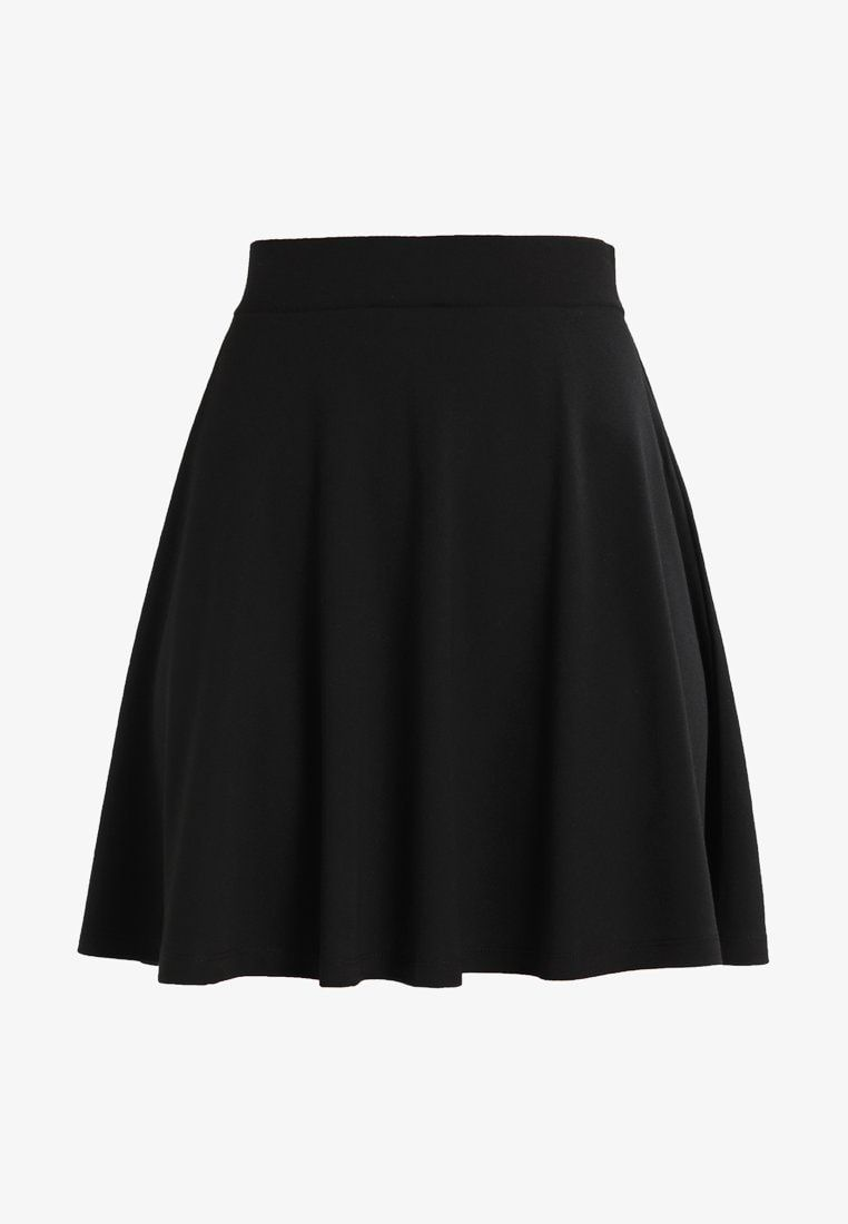 Who What Wear THE WRAP MIDI SKIRT A linjekjol black