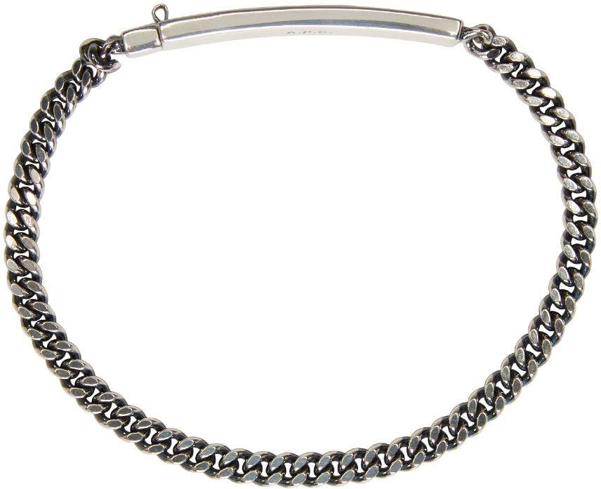 A.P.C. - Silver Marc Bracelet