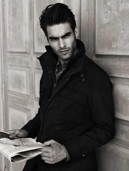 Men S Coats Jackets Shopping Design Ideas Pictures And Inspiration Jon Kortajarena Model Poses Male Models Poses
