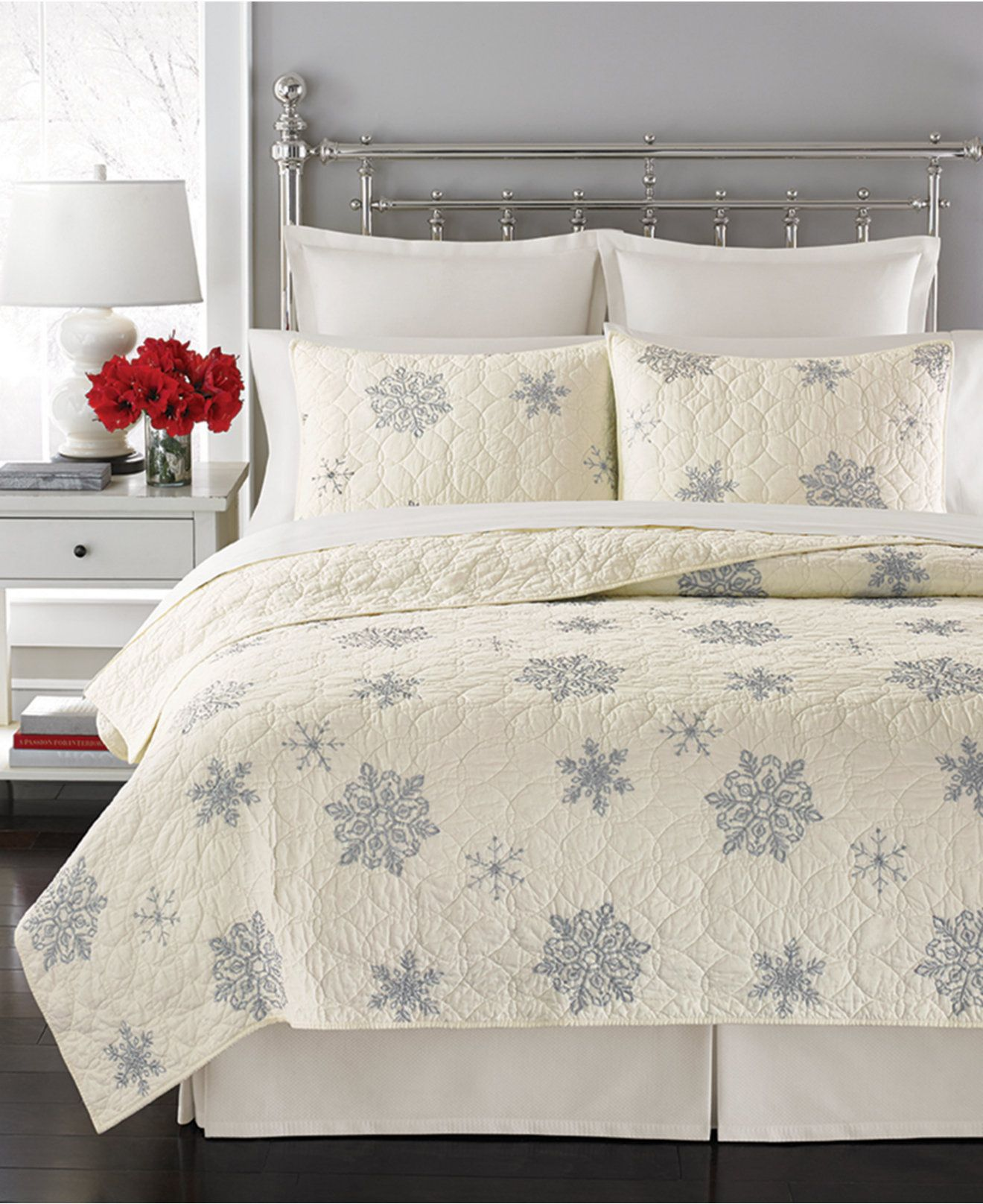 Martha stewart collection flurry quilts only at macys quilts s