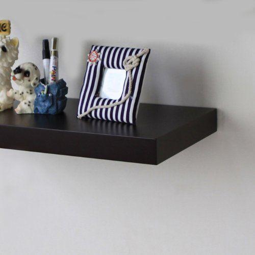 Kitchen Shelf Amazon: Amazon.com: ElleHome Superior Floating Wall Shelf, 48 L X