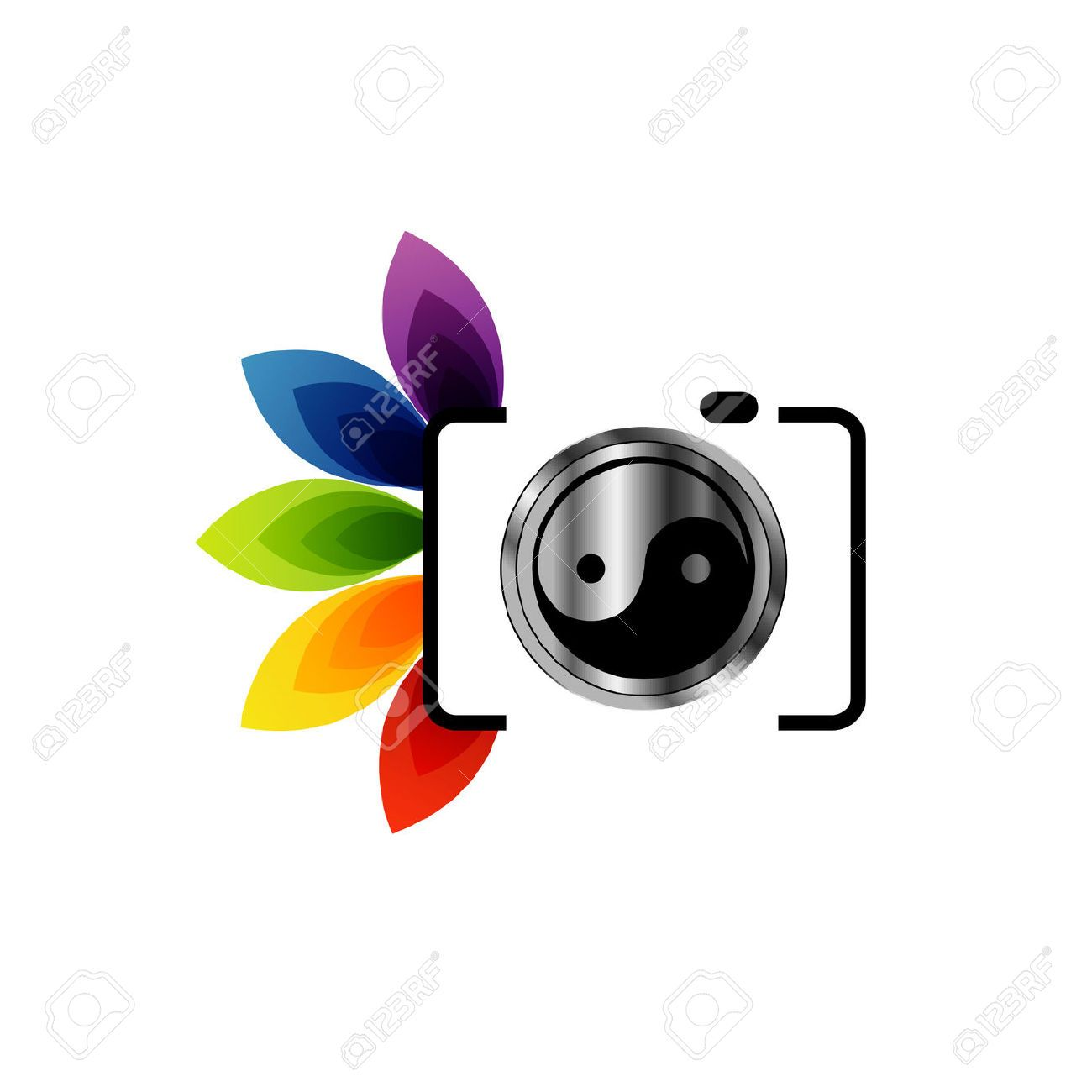Camera Logo Stock Royalty Free