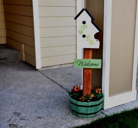bed and breakfast birdhouse | do it yourself home projects from ana