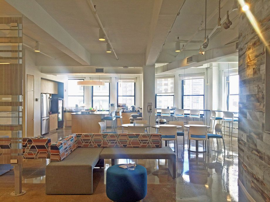 Gkv Architects Recently Completed New Office Space To Help House A