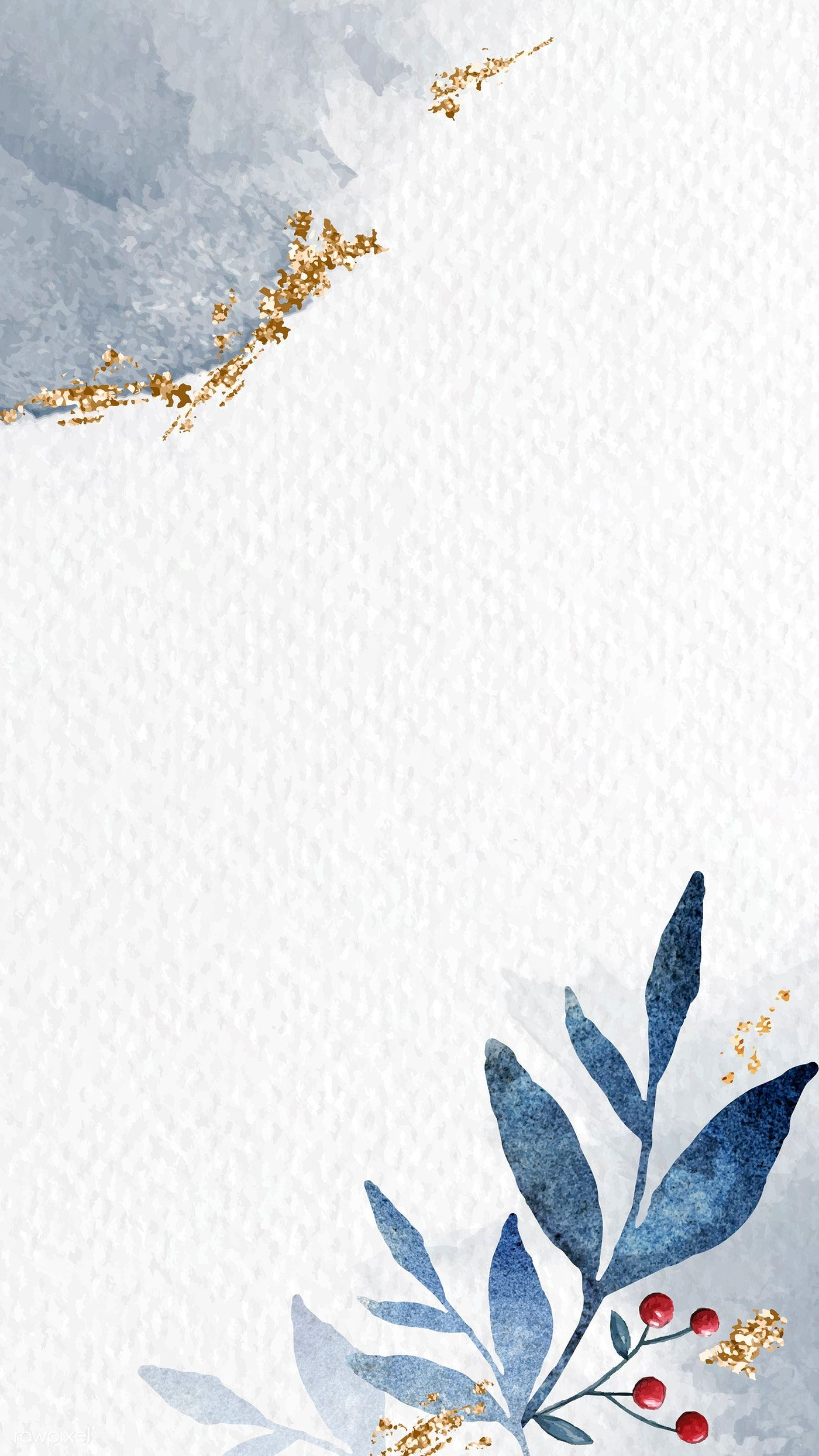 Download premium vector of Shimmering watercolor leafy frame mobile phone wallpaper vector by Adjima about christmas, winter, frame vector illustration, mobile watercolor, and iPhone wallpaper winter 1229126