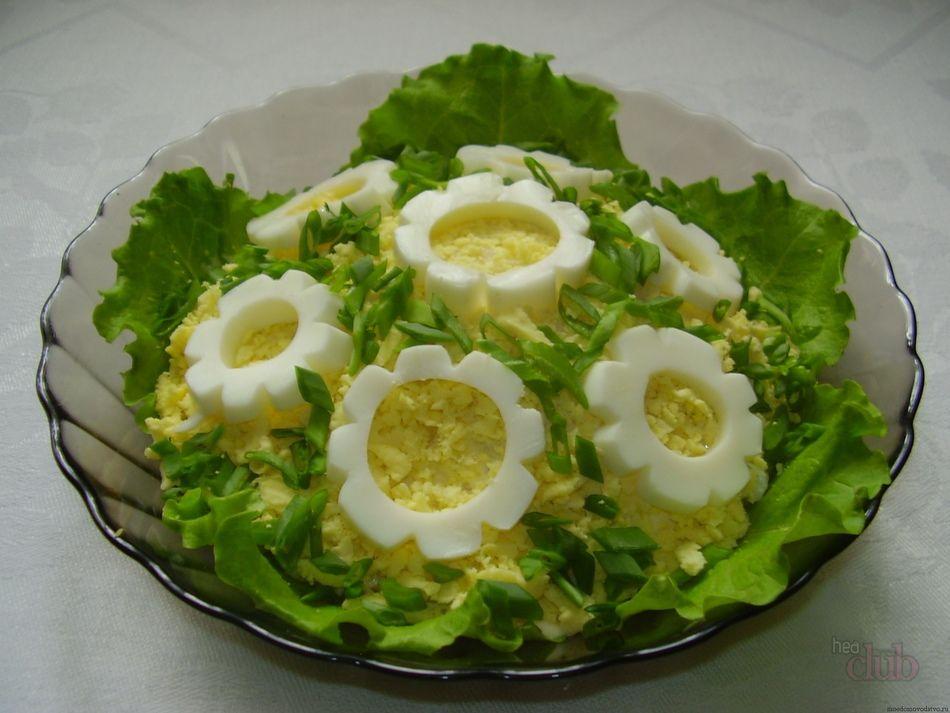 Как украсить салаты красиво 61