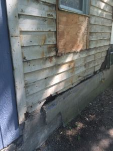 Repairing Rotted Wall Studs And Sill On Outside Wall Google