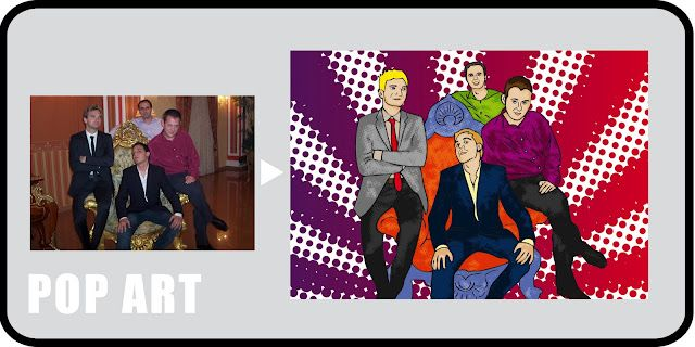 EL Pop Art y los retratos al estilo Warhol son ideales para regalar. Es un regalo muy agradecido con el que seguro quedas de maravilla.
