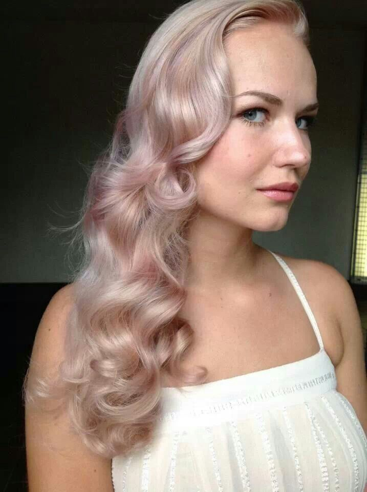 rose gold hair is beautiful champagne hair pinterest. Black Bedroom Furniture Sets. Home Design Ideas