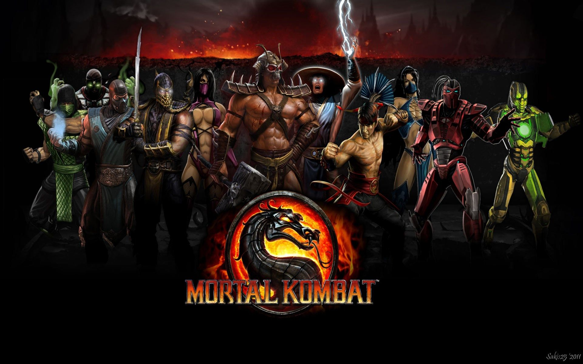 Mortal Kombat Screensavers And Backgrounds Free Mortal Kombat Character Wallpaper Art Wallpaper