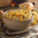 Creamy Cheesy Garlic Grits