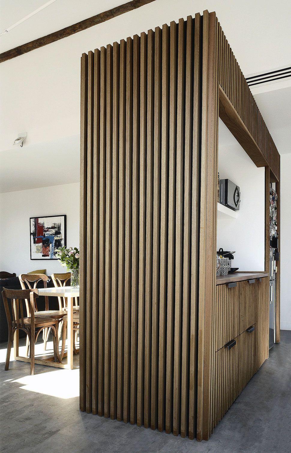 Claustra Intérieur En Bois bertrand guillon architecture - architecte - marseille