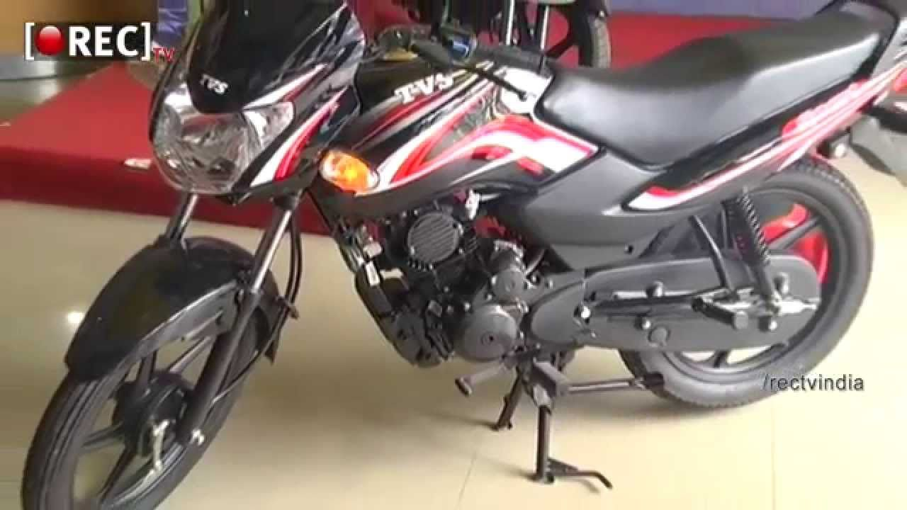 Tvs Sports Bike Indian Model Showreel Video Demo Auto Show Tv