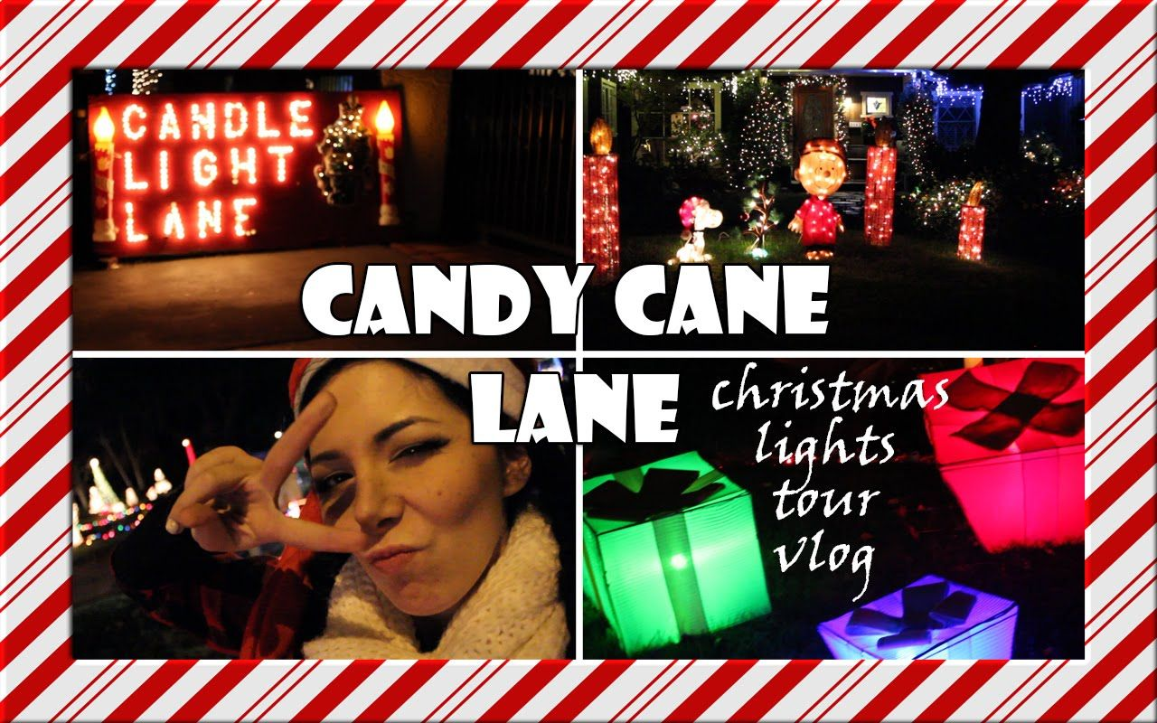 CANDY CANE LANE WOODLAND HILLS CALIFORNIA VLOG
