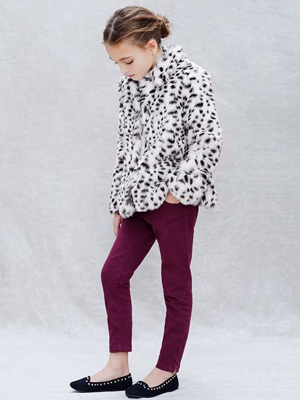 24d0c959 This edgy combo from Zara Kids is perfect for little girls who want to skip  the fancy frocks, but still feel dressed-up.