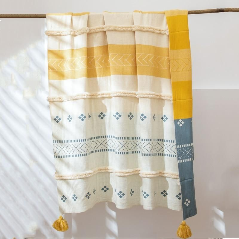 Acker Throw Blanket In 2020 Knit Throw Blanket Knitted