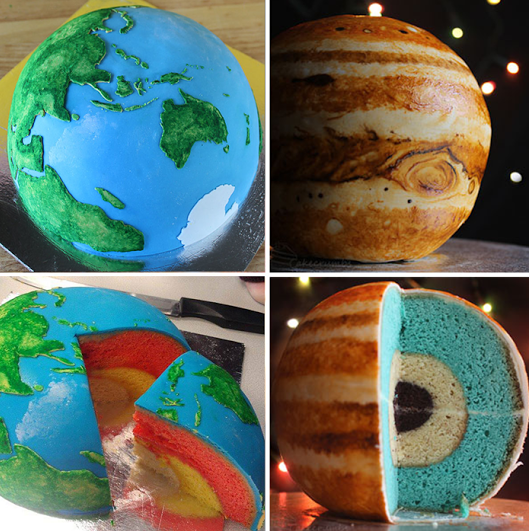 Spherical Concentric Layer Cake Tutorial: How to Bake ...