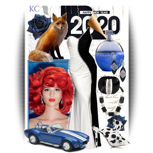 Fashion set Happy New Year, Ms. Fox created via in 2020