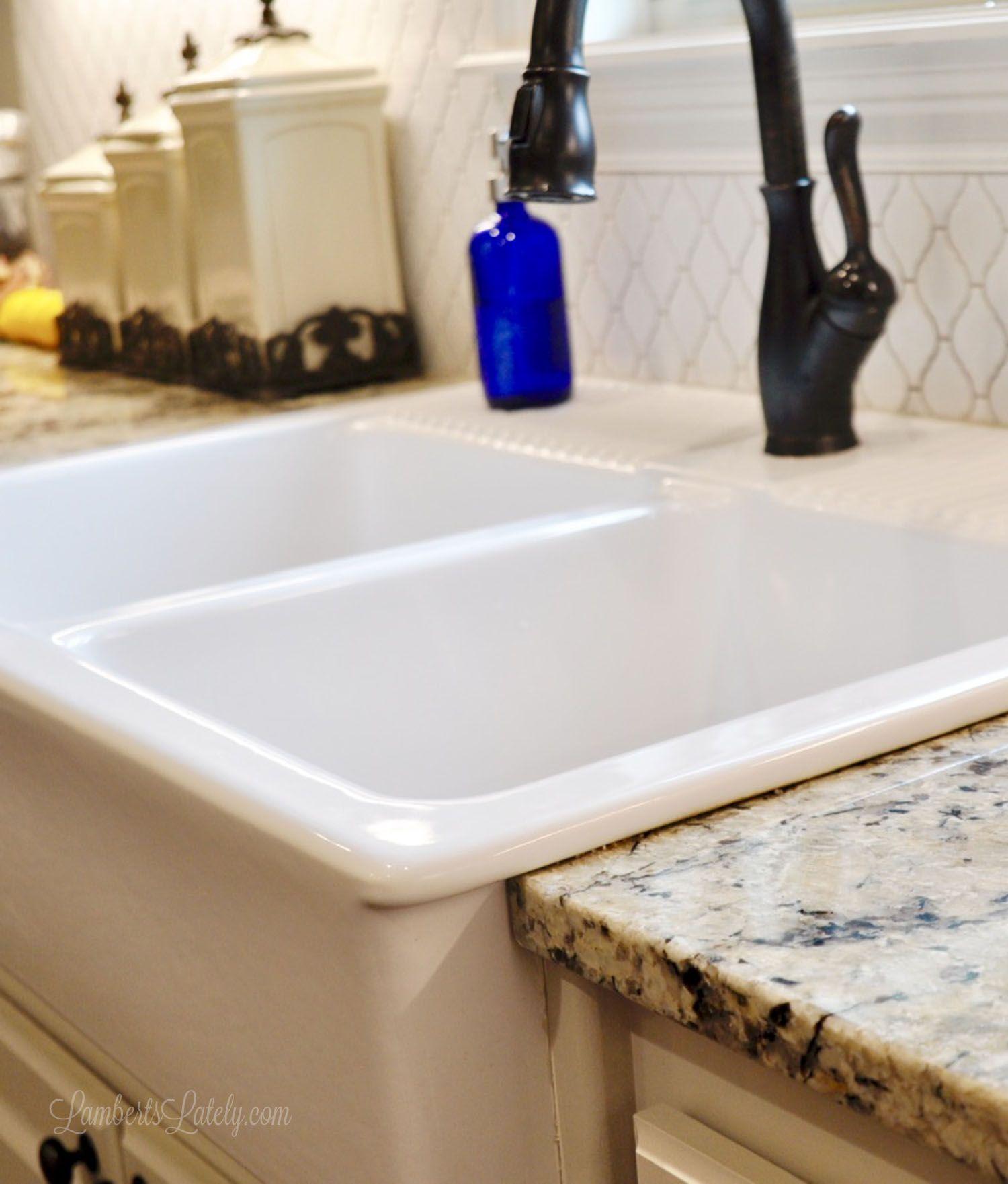 How to Clean a Porcelain Farmhouse Sink Sink, Farmhouse