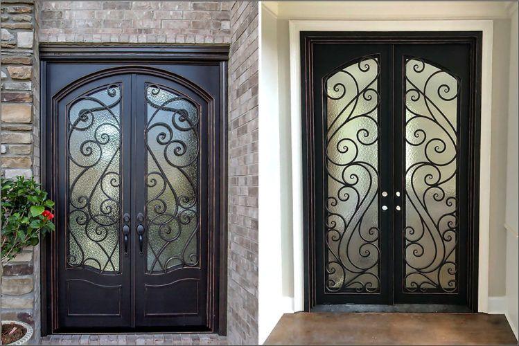 Modern Iron Doors Ideas To Make Your Entrance Look Beautiful Wrought Iron Front Door Metal Doors Design Wrought Iron Doors